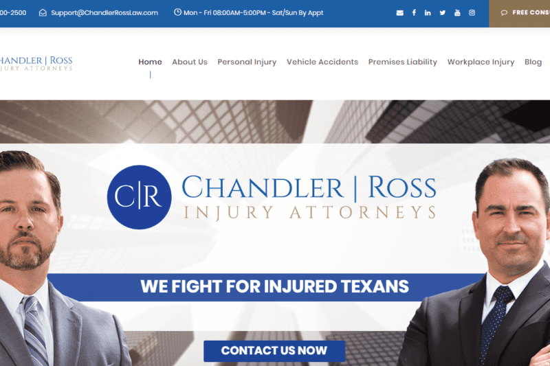 Chandler Ross Personal Injury