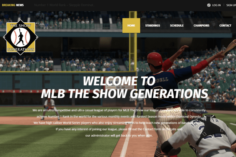 MLB The Show Generations