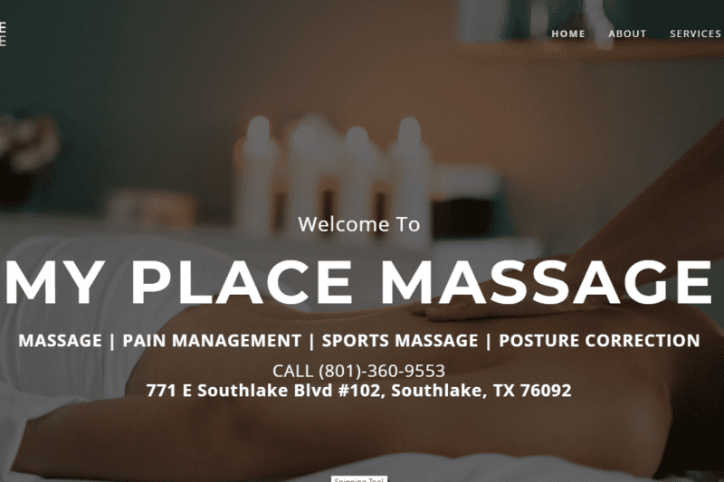 My Place Massage, Southlake TX